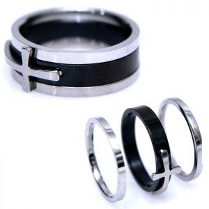 3pcs Assemble Set Cross-Ring 86