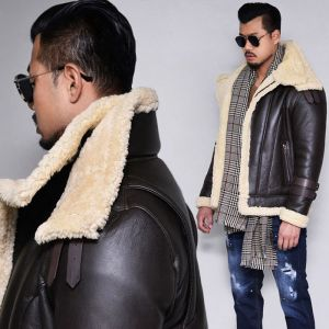 Lux Double Highneck Full Shearling Lambskin-Leather 147