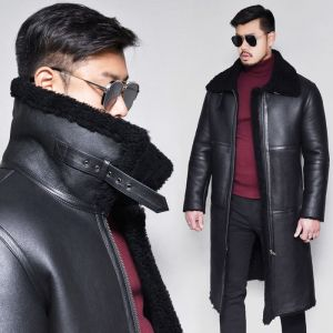 Black Label Full Shearling Highneck-Leather 152