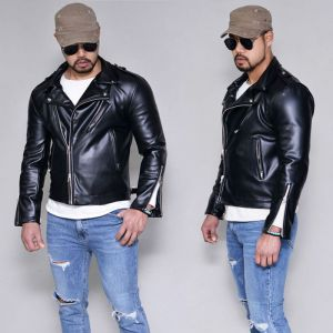 Urban Zipper Leather Biker-Leather 159