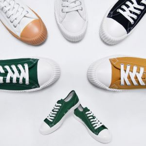 Contrast Toe Sneakers-Shoes 701