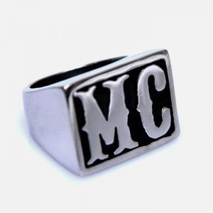 Hip MC Square Steel-Ring 90