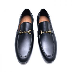 Parisian Chic Gold Chain Loafer-Shoes 705