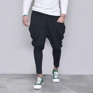 Ray Cut Pocket Baggy-Pants 411