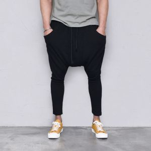 Soft Drop Crotch Baggy-Pants 423