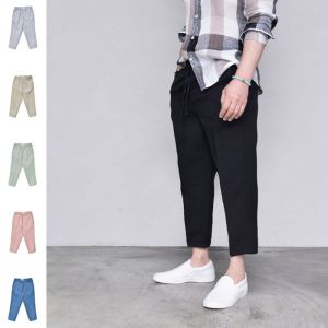 Daily Comfy Crop Banding-Pants 427