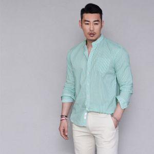 Mandarine Vivid Stripe-Shirt 254