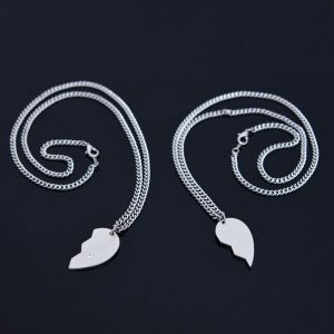 Broken Heart 2pcs Set-Necklace 354