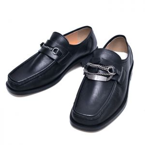 Unbalance Chain Designer Loafer-Shoes 724
