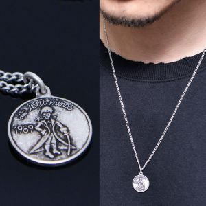 Little Prince Coin Necklace-Necklace 356