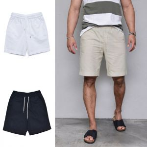 Daily Basic Linen Turn-up-Shorts 201