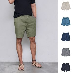 Classy Urban Linen Banding-Shorts 202