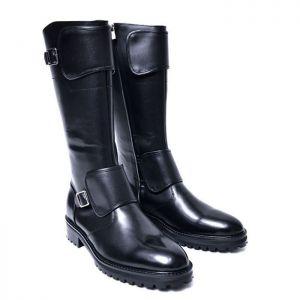 Long Armor Biker Boots-Shoes 729