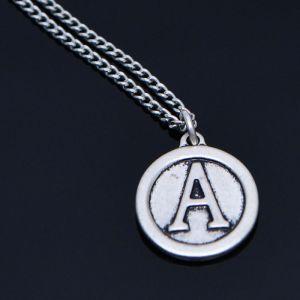 A Coin Pendant Necklace-Necklace 358