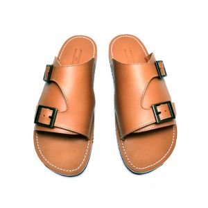 Lux Double Monk Leather Sandals-Shoes 742