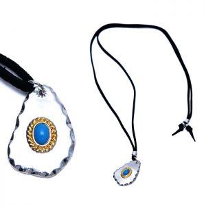 Unique Turquoise CHarm Long-Necklace 360