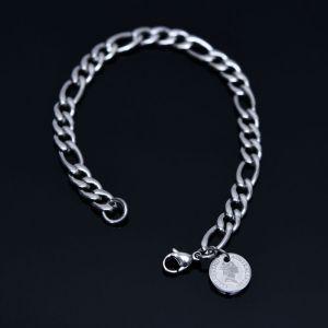 Steel Elizabeth Chain Cuff-Bracelet 480