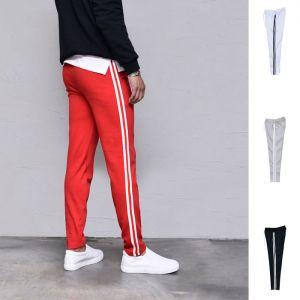 Double Line Comfy Slim Sweats-Sweatpants 402