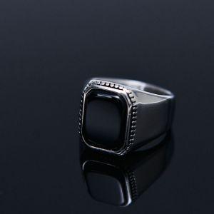 Square Onix Streel Ring-Ring 99