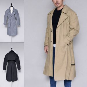 Loose Fit Over Trench-Coat 156