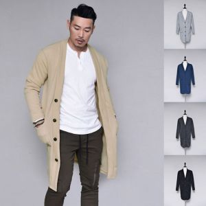 Modern Slim Daily Long Sweater-Cardigan 284