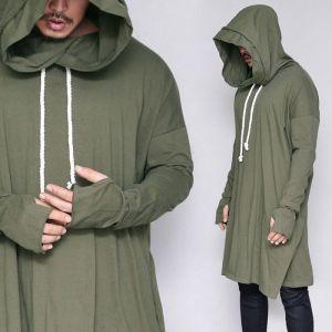 Extra Long Warmer Big Hood-Hoodie 309