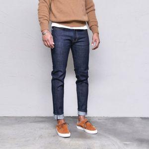 Dry Spandex Selvedge Banding Slim-Jeans 496