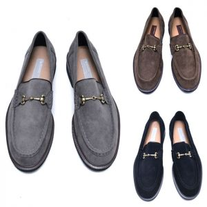Hatchback Suede Loafer-Shoes 766