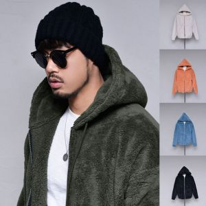 Teddy Bear Cozy Shearling Hood-Jacket 380