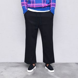 Thick Full Fleece Wide Banding-Pants 503