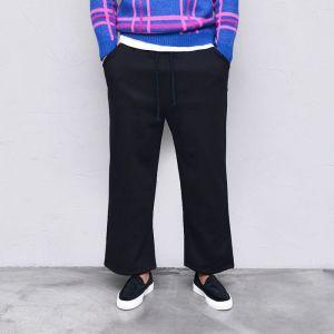 Thick Full Fleece Wide Banding-Pants 503