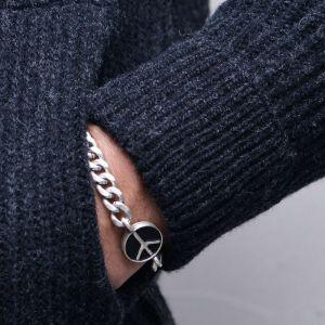 Peace Chain Cuff-Bracelet 484