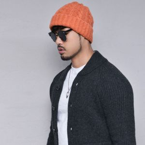 Snug Fit Wool Jacket-Cardigan 292