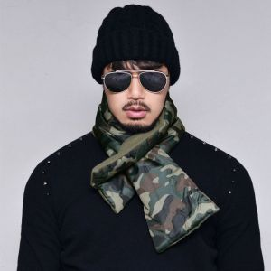 Camouflage Padding Scarf-Scarf 48