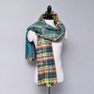 Sensuous Colorful Checker-Scarf 52
