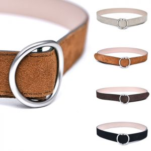Minimal Suede O-ring-Belt 204