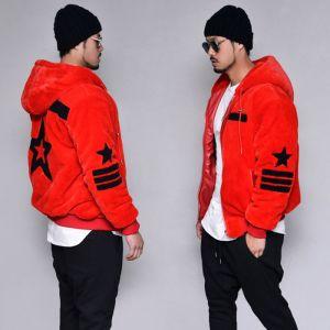 Rich Fur Swag Hood-Hoodie 322