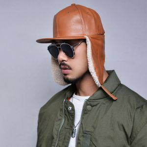 Shearling Dogear Snapback-Hat 111