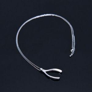 Silver Deer Antler-Necklace 374