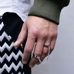 Chained Doube Ring-Ring 102