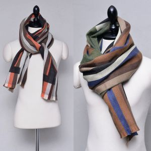 Sensuous 5 Color Mix Wool-Scarf 54