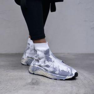 Flexible Sock Ankle Shoes-Shoes 787