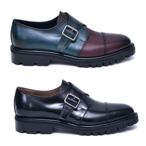 Classy Custom Monk Strap-Shoes 793