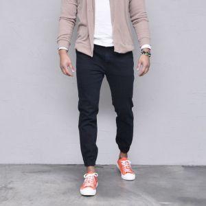 Banding Stretchy Denim Jogger-Jeans 514