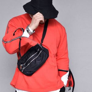 Edgy Double Zipper Bodybag-Bag 217