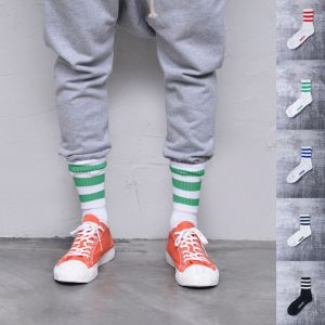 Sporty Stripes 5 Socks Set-Gadget 106