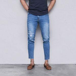 Classic Vintage Tone Slim Ankle-Jeans 522