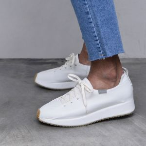 5.5cm Height Increasing Leather Sneakers-Shoes 800