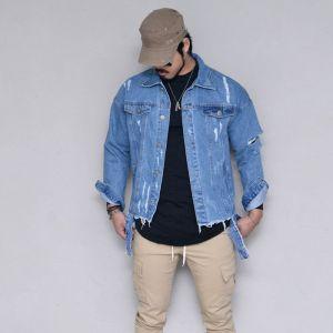 Destroyed Vintage Denim-Jacket 403