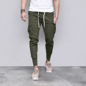 Excellent Fit Stretchy Cargo Jogger-Pants 563